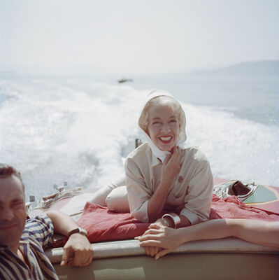 Slim Aarons, 'Lily On The Riviera', 1957