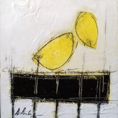 Danielle Lanteigne, 'Citrons sur Table Noire I', 2020