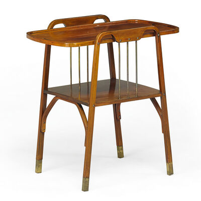 Thonet, 'Two-tiered tea table, Austria', early 1900s