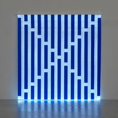 Daniel Buren, 'Fibres optiques — Bleu foncé J2', 2013