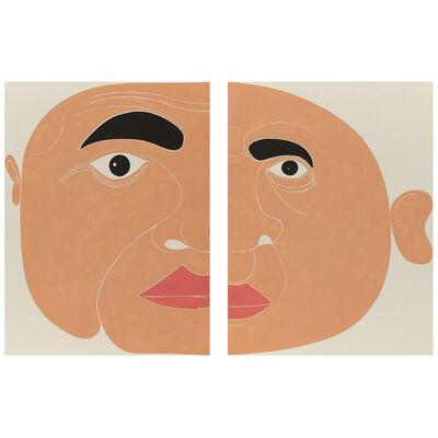 Giovanni Garcia-Fenech, '2 Panel Seft-portrait', 2012