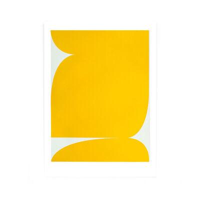 Johan Van Oeckel, 'Untitled (Yellow on light grey)', 2019