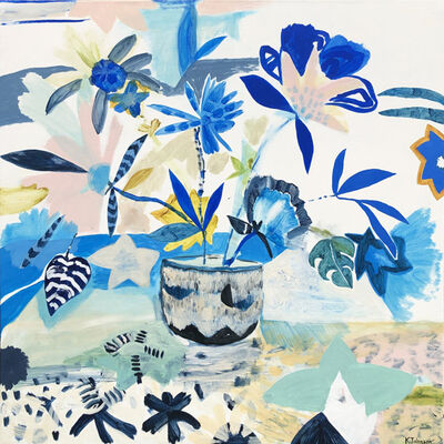 Kaitlin Johnson, 'Blue Boho', 2019