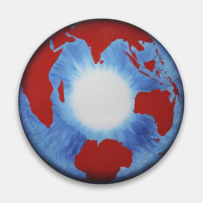 Marc Quinn, 'The Eye of History (Polar Perspective) Red ', 2012