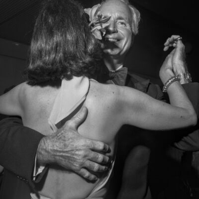 Larry Fink, 'Benefit, The MoMA New York, NYC', 1977