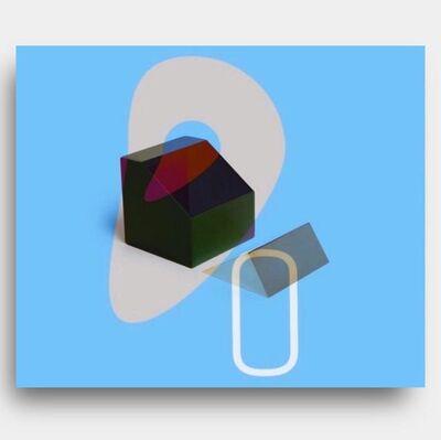 Rachelmauricio Castro, 'Object + Blue', 2019