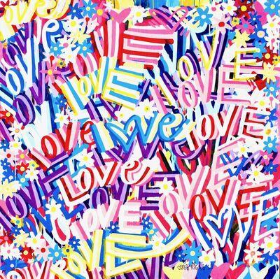 CHRIS RIGGS, 'Love Painting 1', 2018