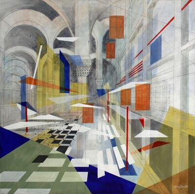 Sherry Tseng Hill, 'Making Small Spaces - spatial, geometric, architectural', 2013