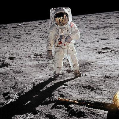 Buzz Aldrin, 'Apollo 11. 'A Man on the Moon'', 2019