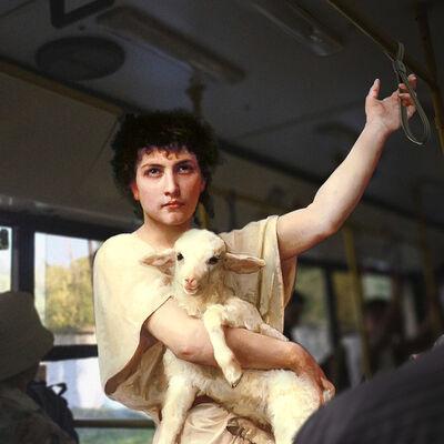 """Alexey Kondakov, 'Elizabeth Jane Gardner Bouguereau """"The Shepherd David"""". Kyiv, Boryspilska Str.  ', 2017"""