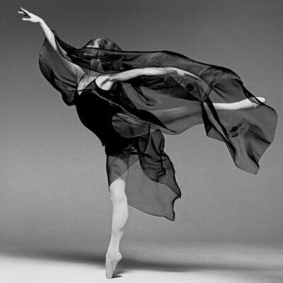 Clive Arrowsmith, 'D'arcy Bussel, Ballerina', 1991
