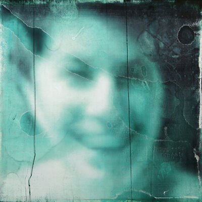 Wendelin Wohlgemuth, 'Blue Smile', 2019