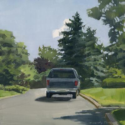 Marilyn Turtz, 'Badly Parked Car'