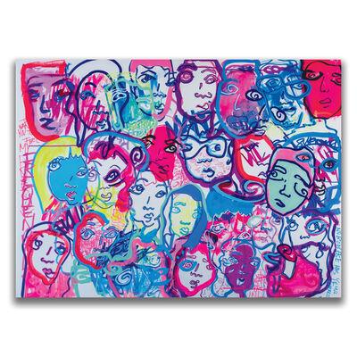 Davia King, 'Sharing Vibes', 2018