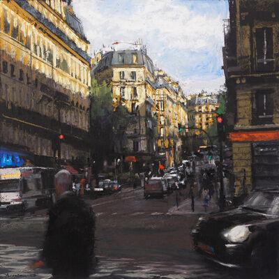 Ben Aronson, 'Rising Shadows on St. Germain Boulevard', 2020