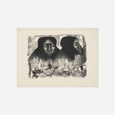 Elizabeth Catlett, 'Lovely Twice', 1976
