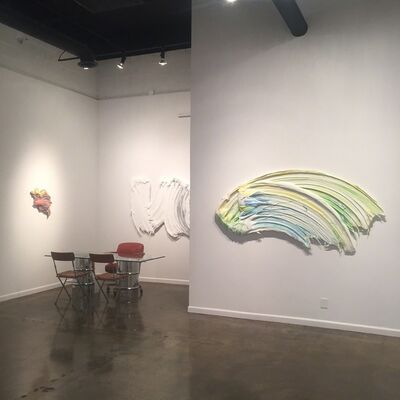 MOVING PAINT, installation view
