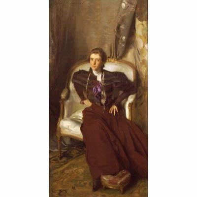 John Singer Sargent, 'Portrait of Mrs. Charles Thursby', 1897-1898
