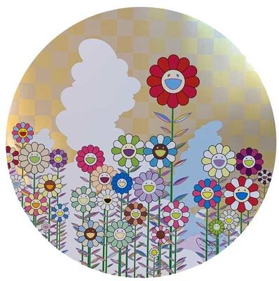 Takashi Murakami, 'A Memory of Him and Her on a Summer Day', 2018