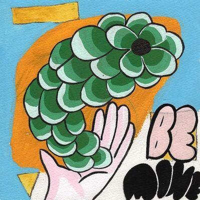 Okay Mountain, '7x7 Collaborative Drawing (#182)', 2012