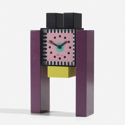 Nathalie Du Pasquier, 'Neos table clock', c. 1988