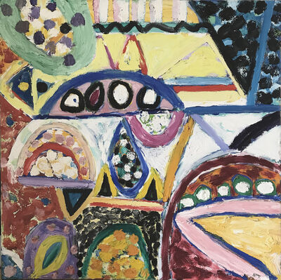 Gillian Ayres, 'Coloured Glass', 2006