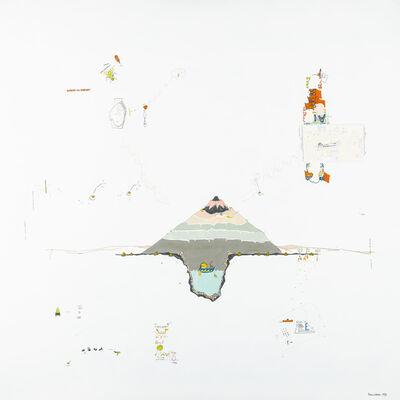 Gianfranco Baruchello, 'Quieto-il-dorso!', 1975