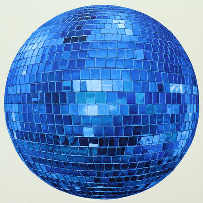 Richard Combes, 'Blue Disco Ball', 2019