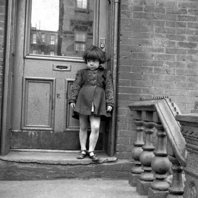 Sonia Handelman Meyer, 'Girl on Stoop ', 1946-1950