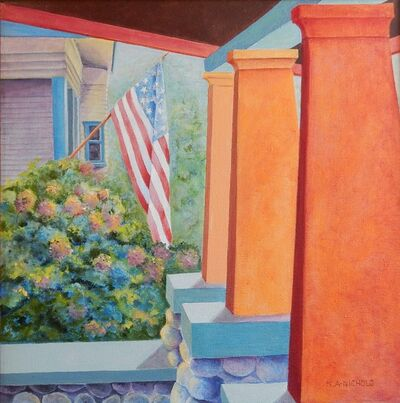 Karen Anable-Nichols, 'Porch View', 2015