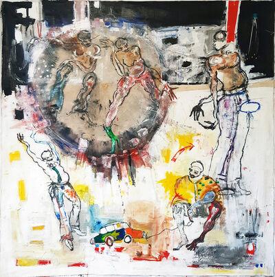 Dominique Zinkpè, 'Untitled', 2018