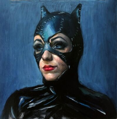 Marshall Jones, 'Study of Catwoman', 2018
