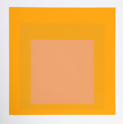 Josef Albers, 'Homage to the Square', 1972