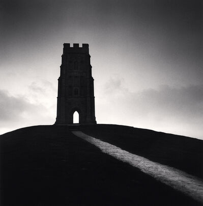 Michael Kenna, 'Glastonbury Tor, Study 3, Somerset, England', 1990