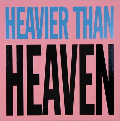 John Giorno, 'Heavier than Heaven', 2005