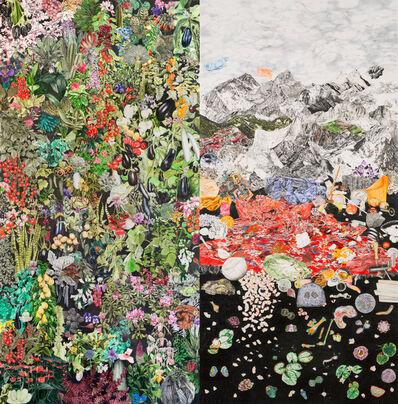Micha Payer + Martin Gabriel, 'Diptych (Geschlossene Gesellschaft, Kontinentaldrift)', 2013/14