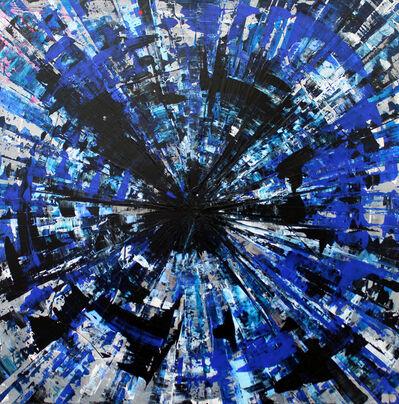 Karin Döring, 'Circle of Life - my blue life', 2019