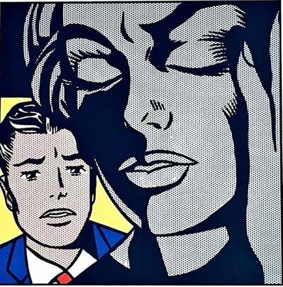 Roy Lichtenstein, 'Tension, 1964 for Art Basel', 1987