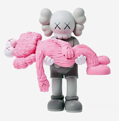 KAWS, 'KAWS GONE Grey Companion (KAWS Grey & Pink Gone)', 2019