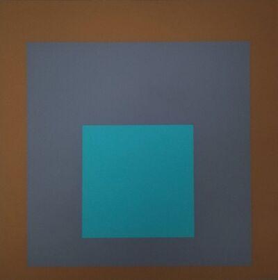Josef Albers, 'Aura', 1962