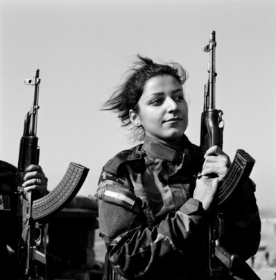 Katharine Cooper, 'Portrait of Peshmerga, Nishtman, 24 years old, serving in the Kurdistan Freedom Party (PAK), fighting Daech,  Northwest Kirkuk, Iraqi Kurdistan', 2015