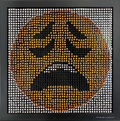 Efraim Mashiah, 'Emoji Screw Series - Weary Face', 2018