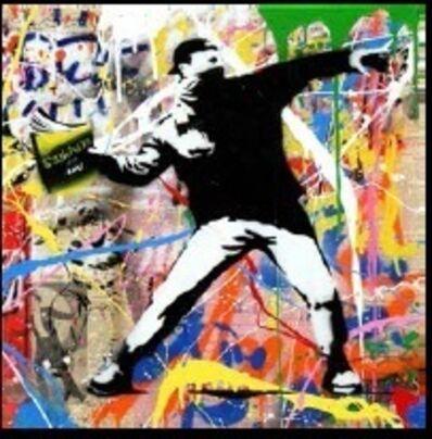 Mr. Brainwash, 'Banksy Thrower (12) ', 2015