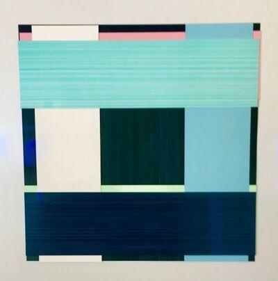 Imi Knoebel, 'Face No 12', 2002