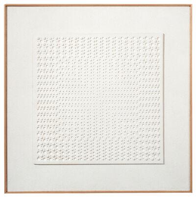 Gerhard Von Graevenitz, 'White structure', 1961