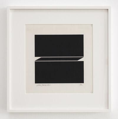 Jiro Takamatsu, 'In the form of square', 1972