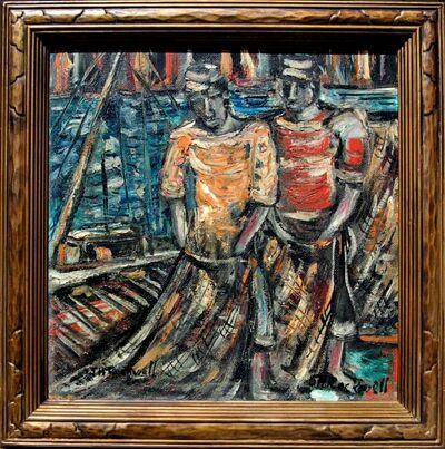 """John Rockwell, '""""The Fishermen"""" ', 1950"""