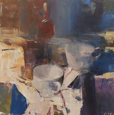 Patrick Lee (b. 1972), 'Red Stripe', 2020