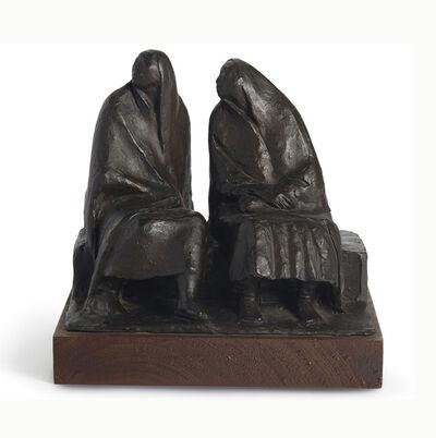 Francisco Zúñiga, 'Madre e hija sentadas', 1973