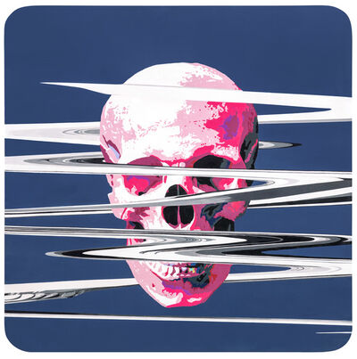 LIN Hung-Hsin, 'A Pink Skull with Cracks', 2016